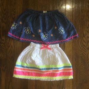Two kids skirts